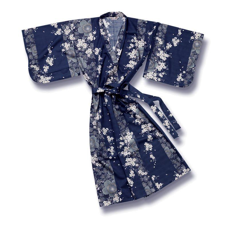 Yukata Kimono Blossom Blue