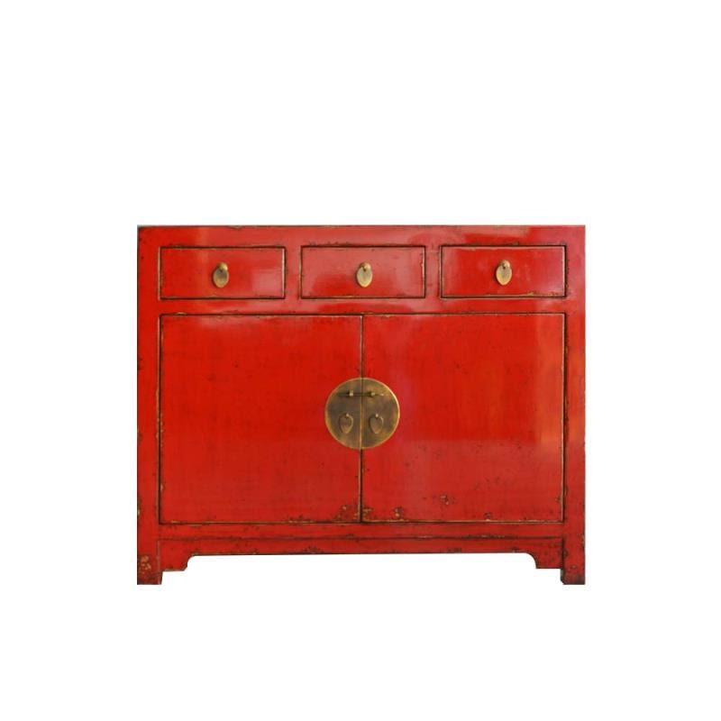 Chinees dressoir rood