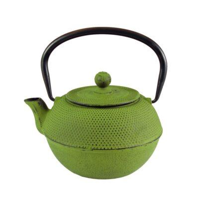 7187 Lime Classic Iron Teapot
