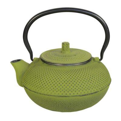 Iron Teapot XL Lime