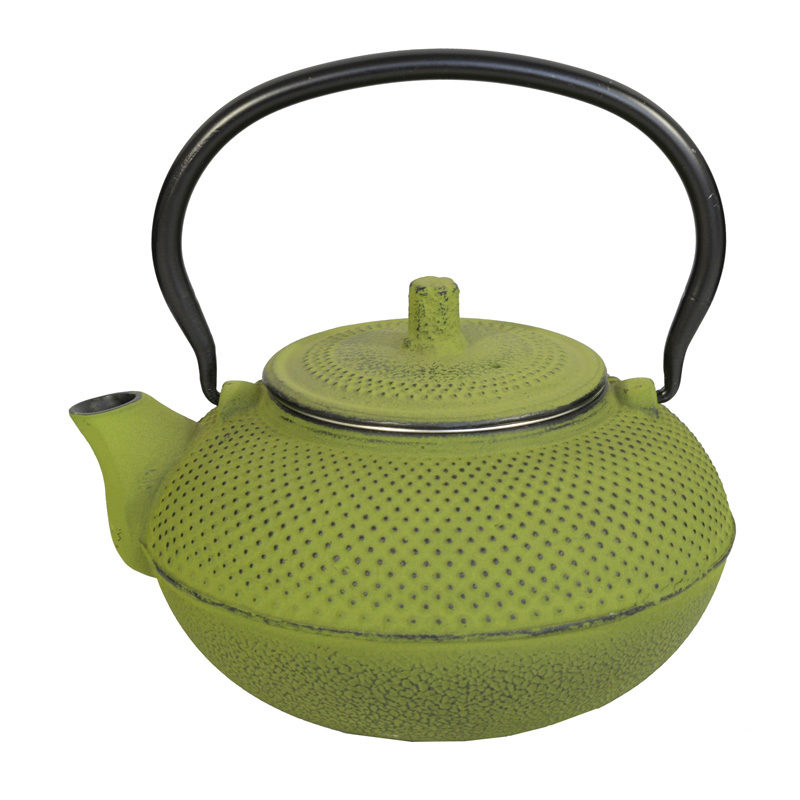 Iron Teapot XL Lime