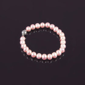 Armband Roze 8 mm Parel