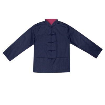 Chinees heren jasje blauw