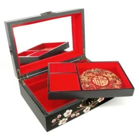 Chinees Juwelenkistje Bloesem detail