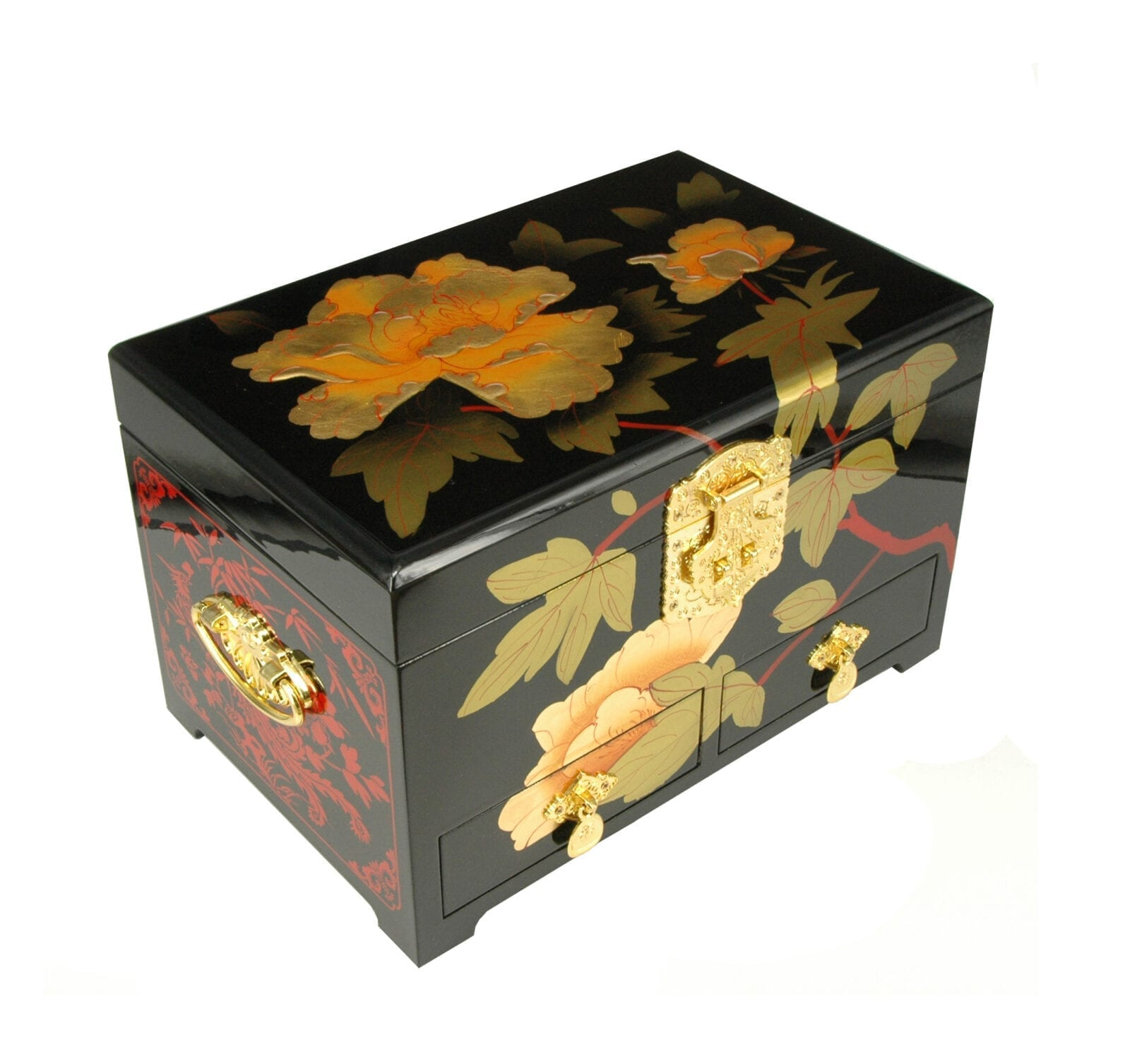 Chinese Juwelenkist Rose XL
