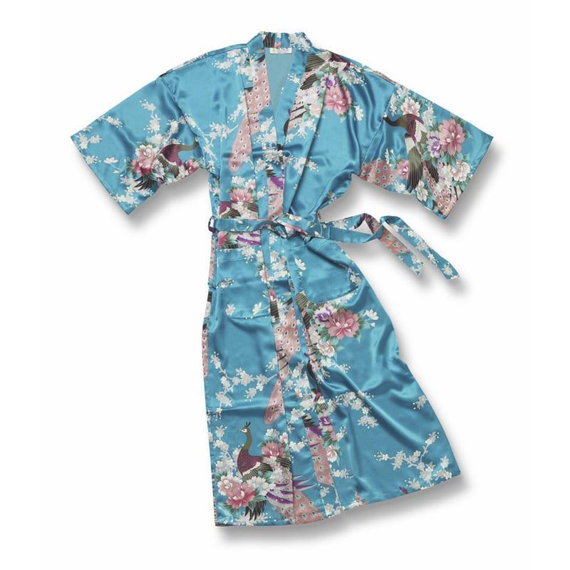 Chinese Kimono Pauw Turquoise 2