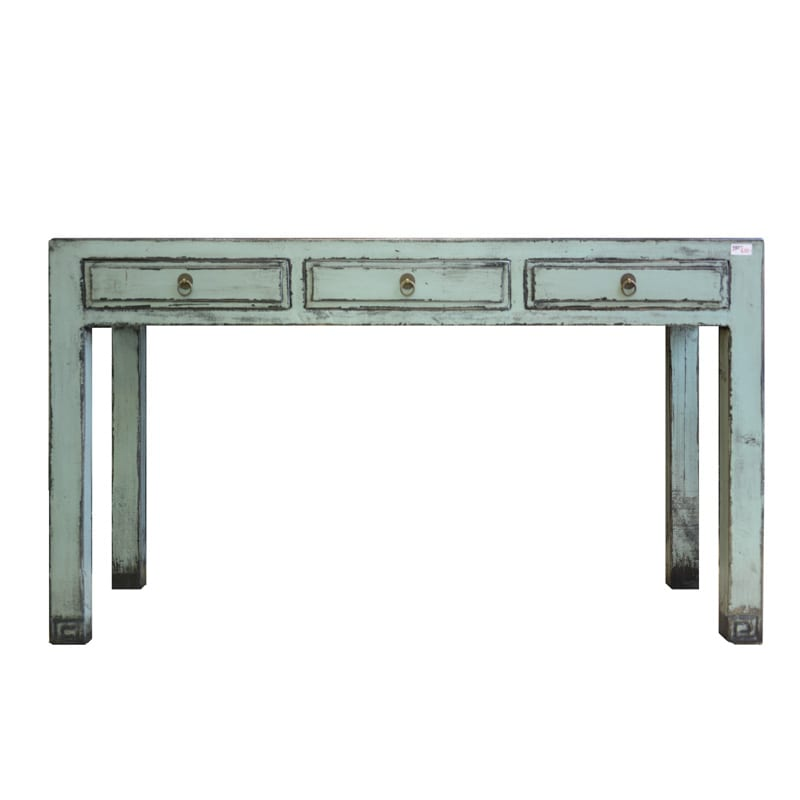 Chinese Sidetable Heavenly Blue