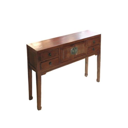 Side Table Bruin.Chinese Sidetable Bruin