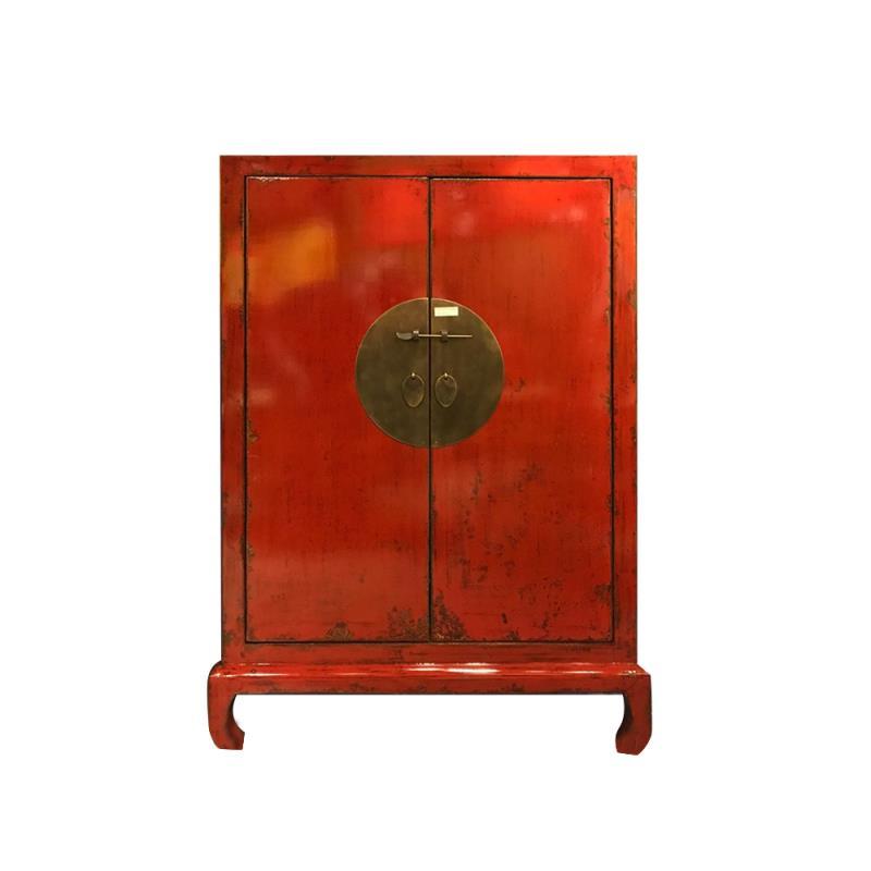 Chinese halkast rood