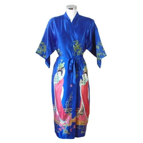 Kimono Geisha Blauw