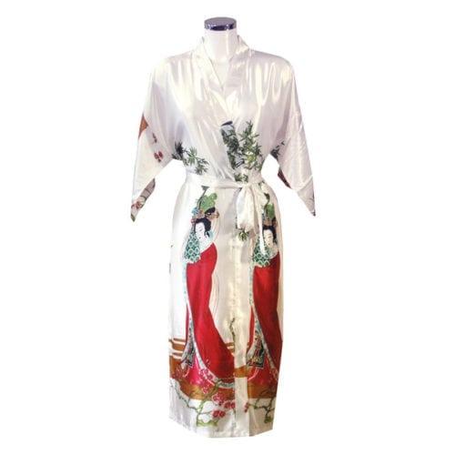 Kimono Geisha Wit