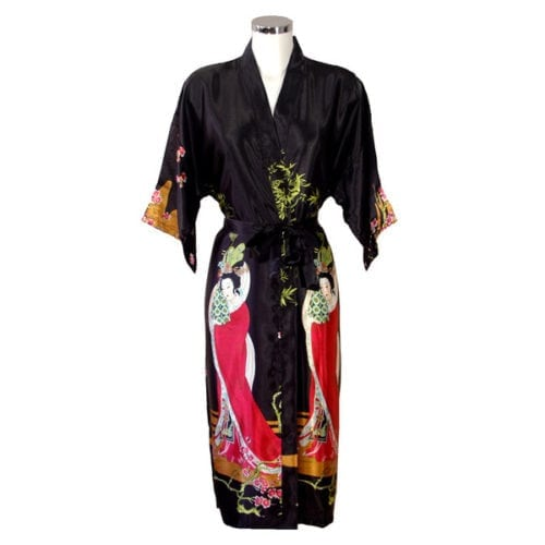 Kimono Geisha Zwart