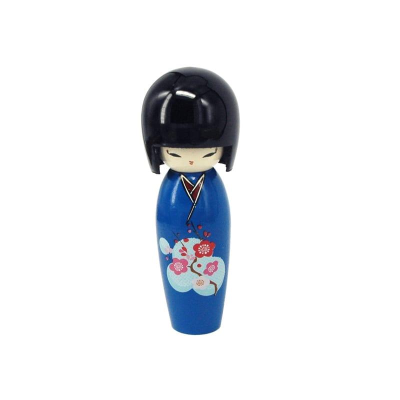 Kokeshi Doll Blauw