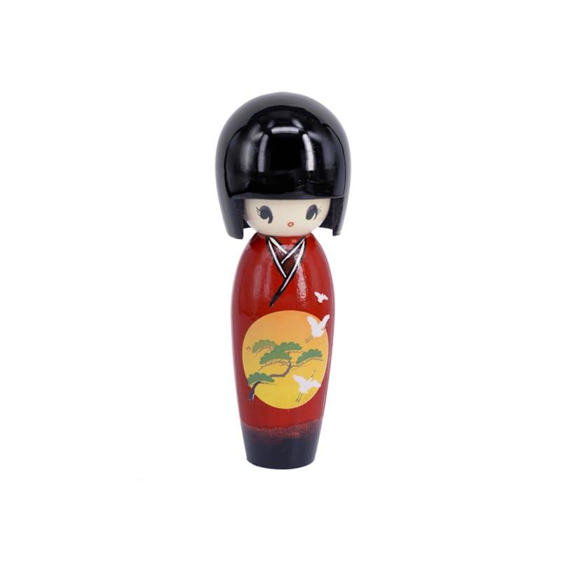 Kokeshi Doll Rood