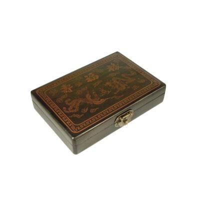 Mahjong in houten koffer XS