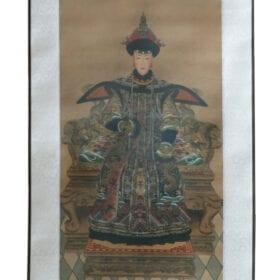 Scroll Print Keizerin detail