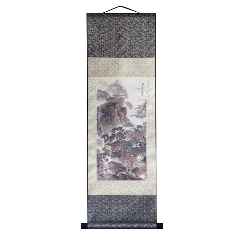 Scroll Print Landscape
