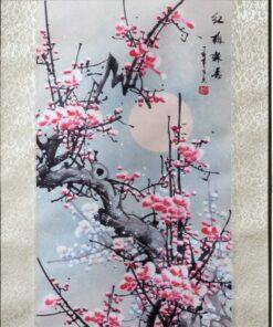 Scroll Print Plum Blossom