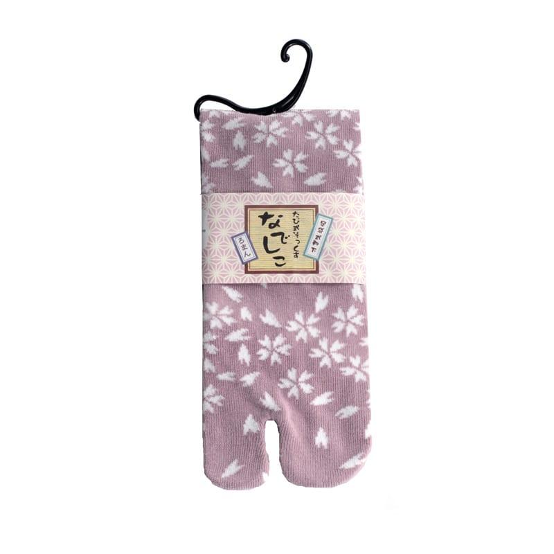 Tabi sokken roze blossom