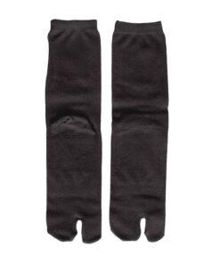 Tabi sokken zwart detail
