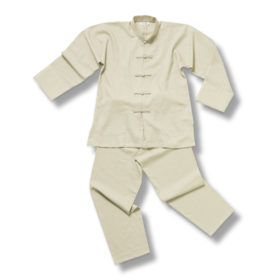 Tai-chi Suit Linnen Off White