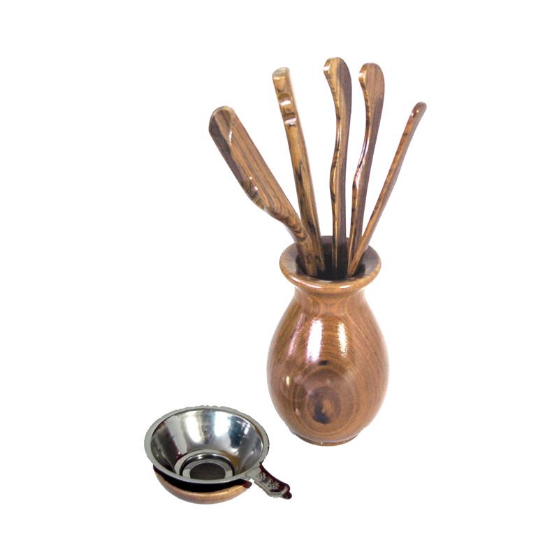 Thee Ceremonie Toolset Bamboe