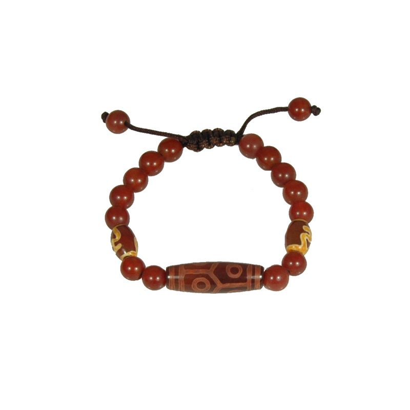 Tibetaanse Mala Armband Rood