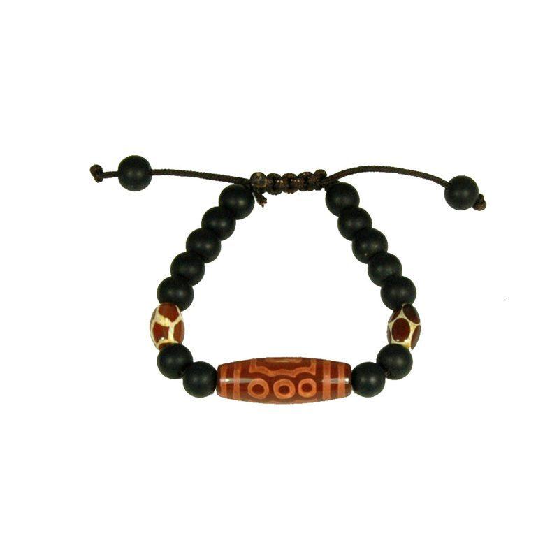 Tibetaanse Mala Armband Zwart