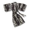 Yukata Kimono Blossom Black