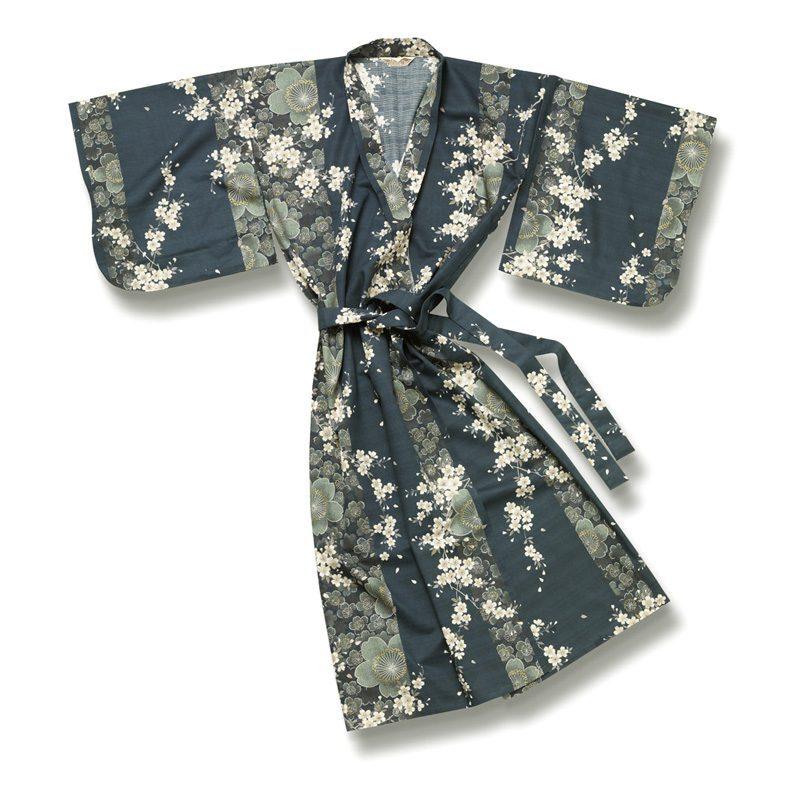 Yukata Kimono Blossom Green