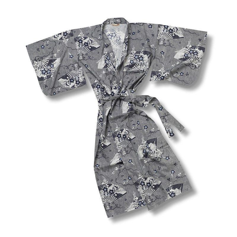 Yukata Kimono Long fan